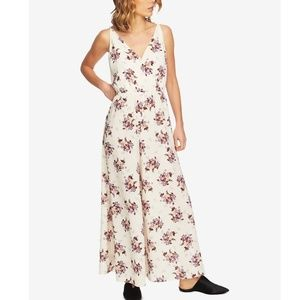 1.State Floral Print Wide-Leg Jumpsuit